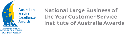 National Large Business of the Year Customer Service Institute of Australia Awards
